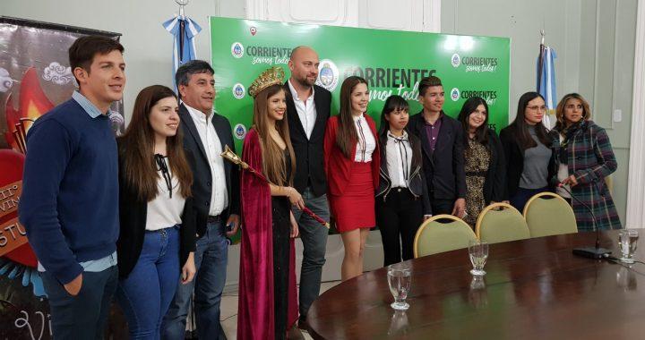 """Presentaron oficialmente la 52º edición de la  Fiesta Provincial de los Estudiantes de la """"Perla del Paraná"""""""