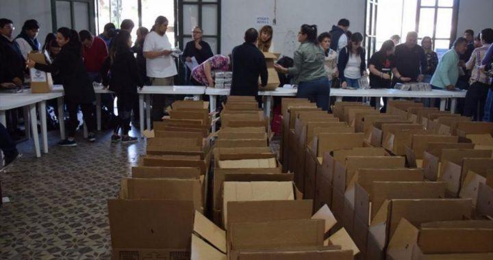 Rumbo al 27 de Octubre, se produce la carga de urnas