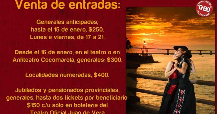 Venta de entradas: 30ª Fiesta Nacional del Chamamé
