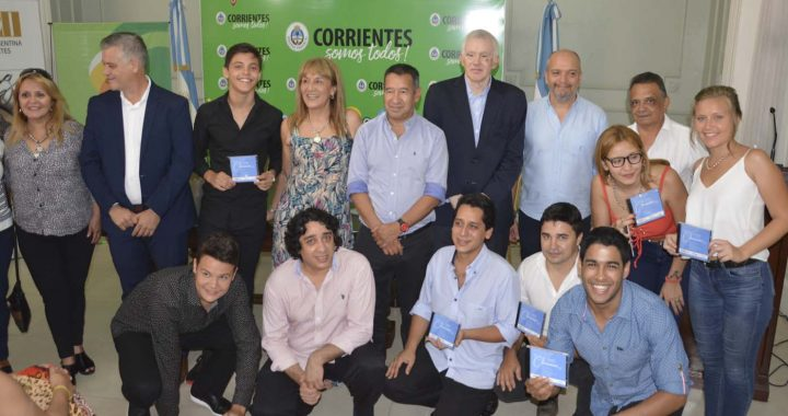Presentaron a los 20 finalistas del Chamamé 2.0 y el CD de los ganadores de la Pre Fiesta del Chamamé