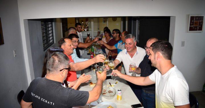 El Intendente Chavez brindó junto a su gabinete por Navidad y Año Nuevo