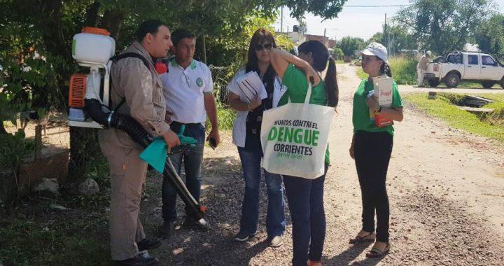 El equipo de Salud continúa con las acciones de prevención de Dengue