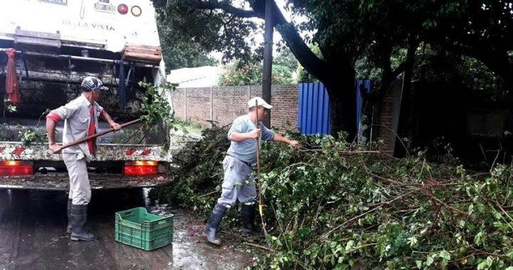TEMPORAL EN BELLA VISTA: EVALÚAN INCONVENIENTES TRAS  INTENSAS LLUVIAS