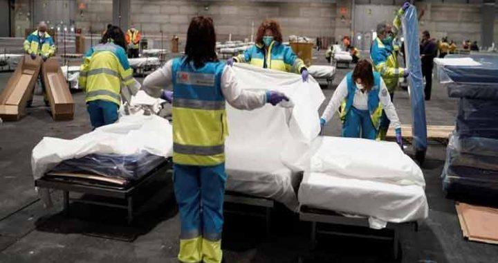 CORONAVIRUS: ESPAÑA VIVIÓ SU DÍA MÁS LETAL, CON 769 MUERTOS EN 24 HORAS