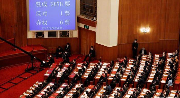 EL PARLAMENTO CHINO APROBÓ SU POLÉMICA LEY DE SEGURIDAD SOBRE HONG KONG