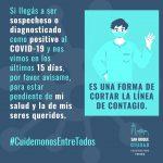 ESTÁ COMPLICADA LA SITUACIÓN EPIDEMIOLÓGICA EN SAN ROQUE: 72 CASOS DE COVID-19 Y UN MUERTO