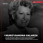 """LUTO EN EL CHAMAMÉ: MURIÓ RAMONA GALARZA, """"LA NOVIA DEL PARANÁ"""""""