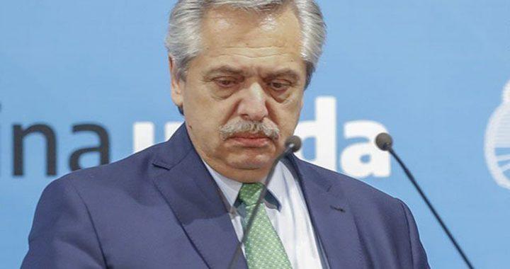 """ALBERTO FERNÁNDEZ ADVIRTIÓ UN POSIBLE """"BOTÓN ROJO"""""""